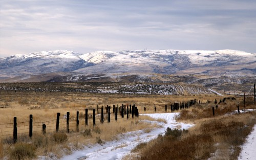 Nevada Snow Fence