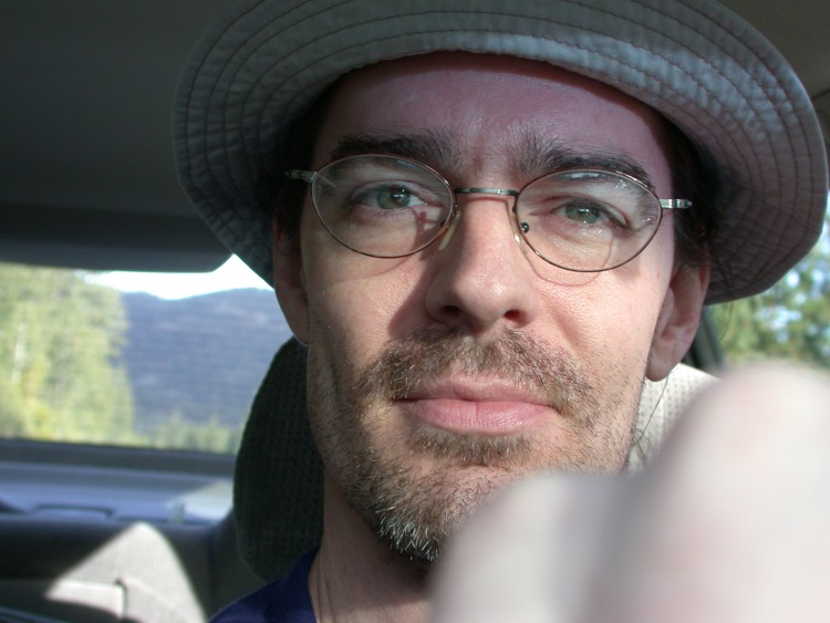 self-portrait - on the road