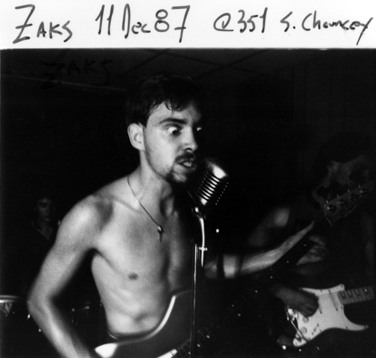 Paul Kasprzak of The Zaks
